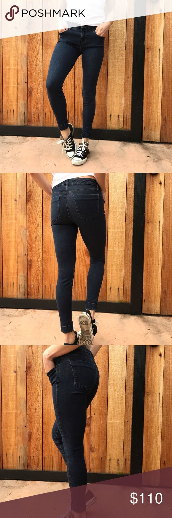 J Brand Rolled Jeans Super stretchy rolled cropped jeans. Measurements upon request J Brand Jeans Ankle & Cropped