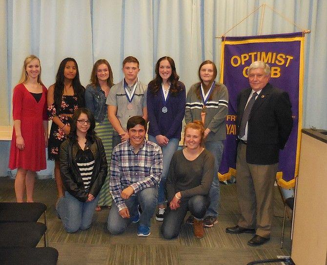 student essay winners