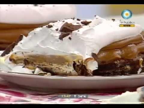 Clásica torta brownie con merengue italiano - Recetas – Cocineros Argentinos