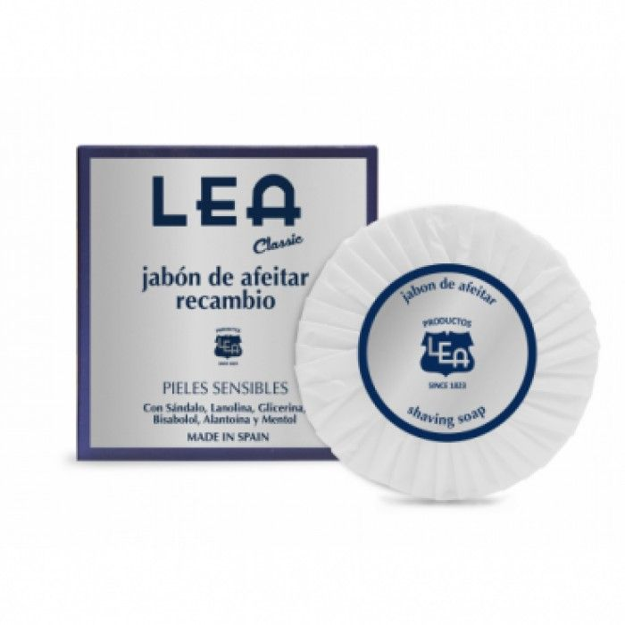 LEA Classic Shaving Soap Refill, Made in Spain