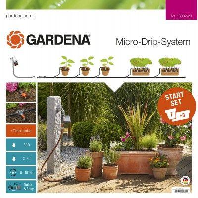 Gardena Startpaket för Blomkrukor M med bevattningsdator  13002-20 Nyhet