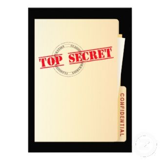 Top Secret Surprise Party Custom Invites Zazzle_invitation Throw a special someone a surprise party and send to friends and loved ones this Top Secret Surprise Party invitations.