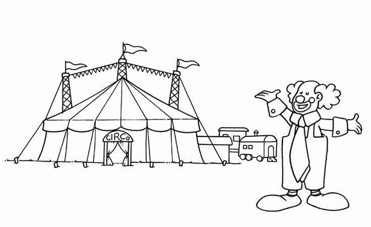Ausmalbilder Zirkus Ausmalbilder Fr Kinder Basteln