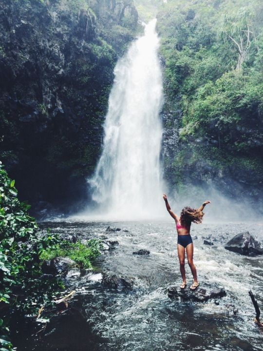 We're actually big proponents of chasing waterfalls.