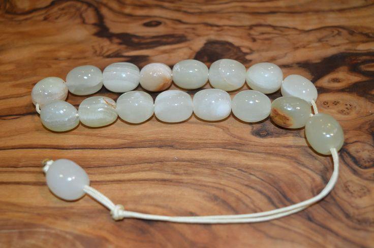 Worry Beads Komboloi Traditional Greek ЧЕТКИ Onyx