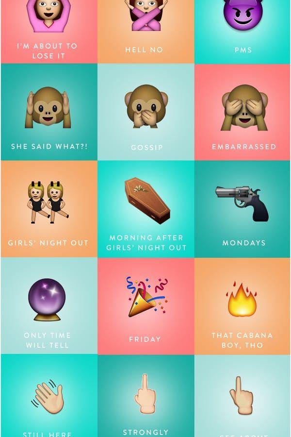 Emoji Dictionary via @PureWow