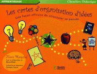 Les cartes d'organisation d'idées. Une façon efficace de structurer sa pensée