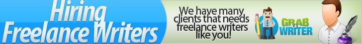 We're hiring freelance writers from all countries. Reach 10,000++ High Paying clients! Promote your profile for free.