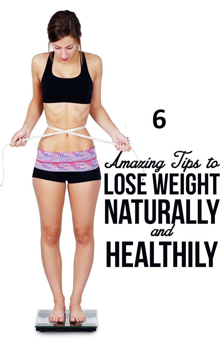 ways to lose weight naturally