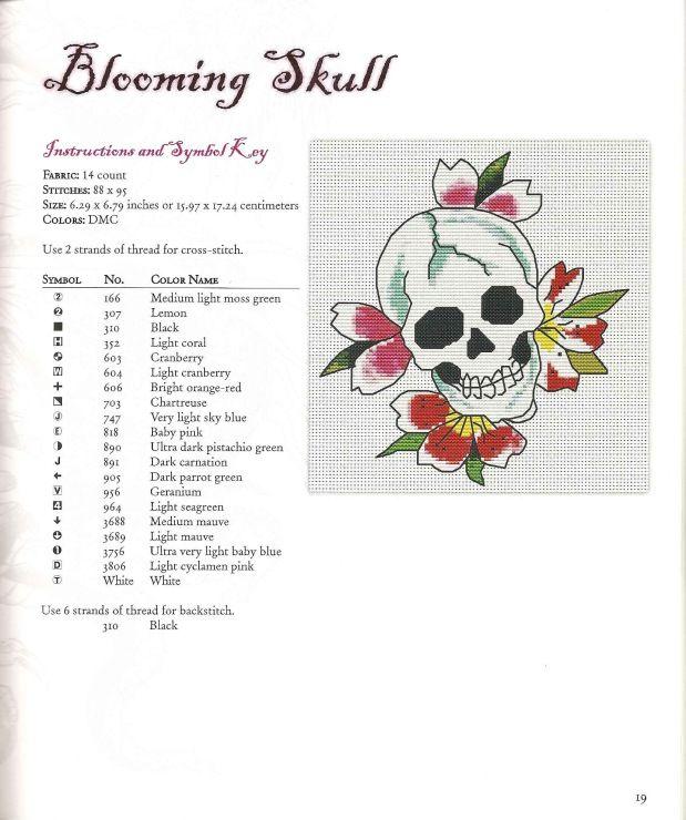 Blooming Skull 1/2