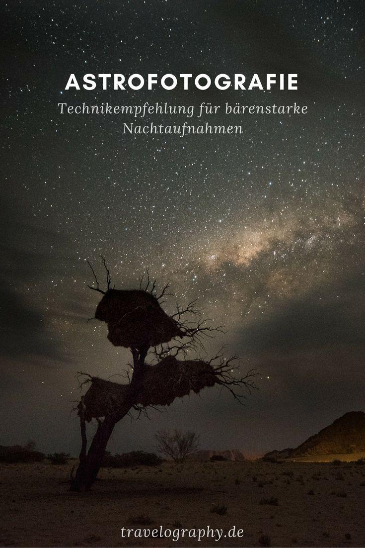 Astrofotografie – Technik: Body, Objektiv & Co