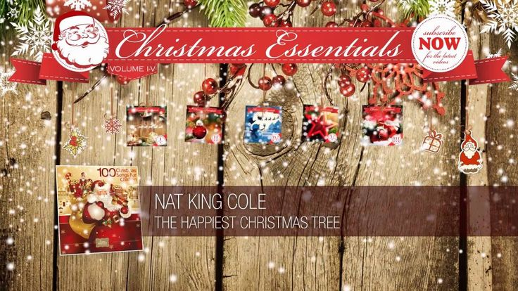 Nat King Cole - The Happiest Christmas Tree (1959) // Christmas Essentials - YouTube