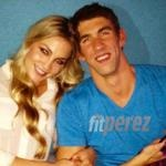 Michael Phelps and his girl...she's gorgeous!!!
