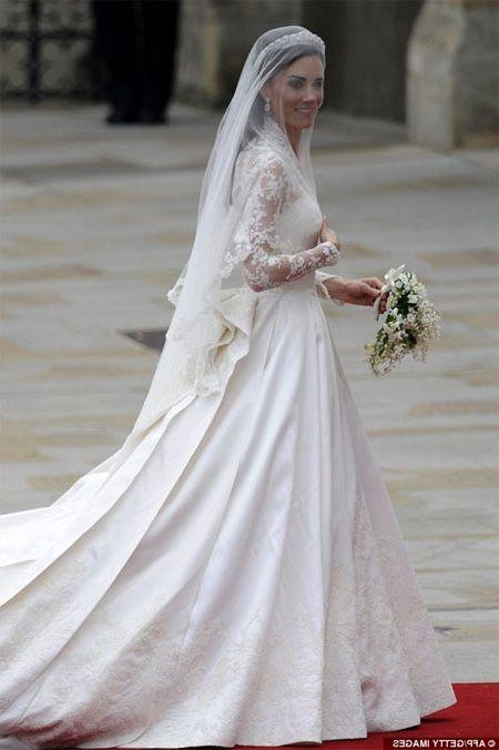 Prenses Kate Middleton'un gelinliği