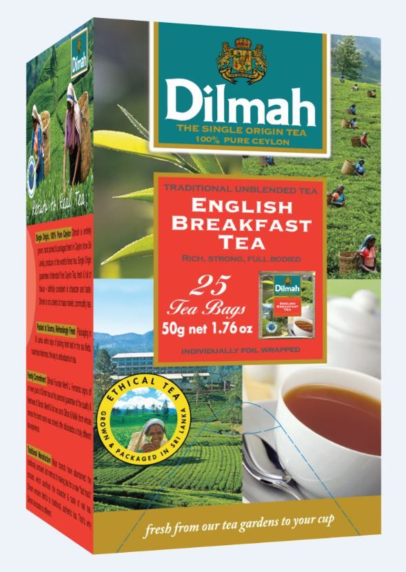 Čaj Dilmah gourment selection - English Breakfast