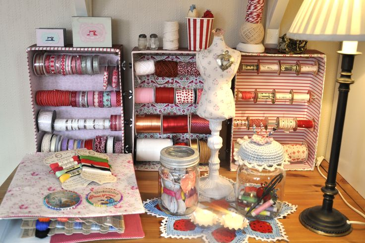 Wings of Whimsy: Vintage Sewing Room Project