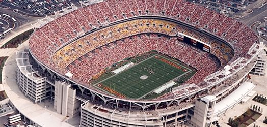 FedEx Field, home of the Washington Redskins...been there!