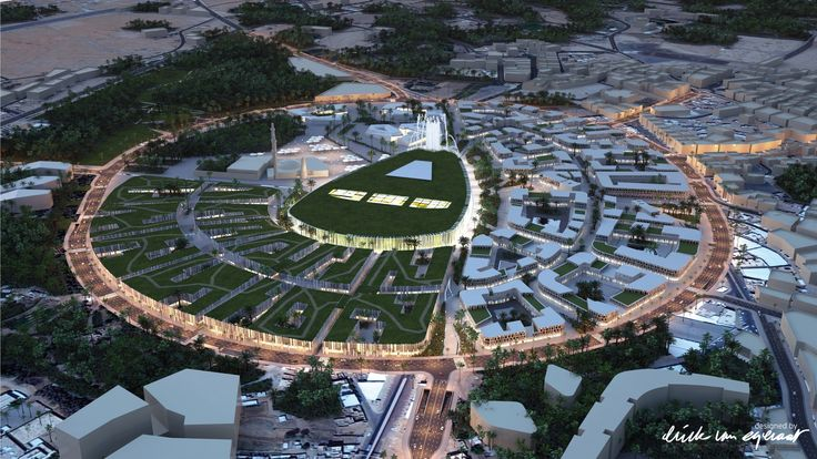 Erick van Egeraat Designs Pedestrianized City Center in Saudi Arabia