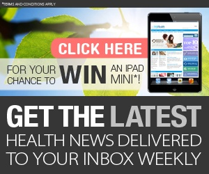 #Win an iPad Mini! Get the latest health news delivered to your inbox | Its My Health