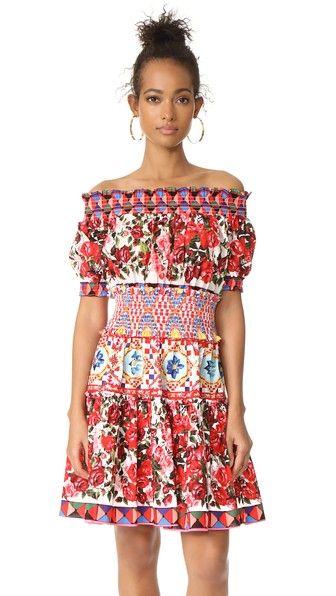 STYLEKEEPERS Wild Flowers Off Shoulder Dress