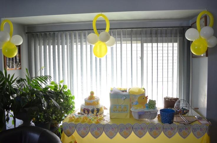 Baby shower Duck decorations | Test