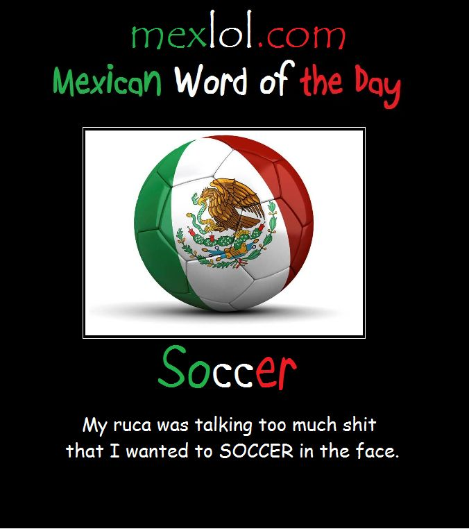 mexican word of the day pictures | Word of the Day: Mushroom Mexican Word of the Day: Soccer Mexican Word ...