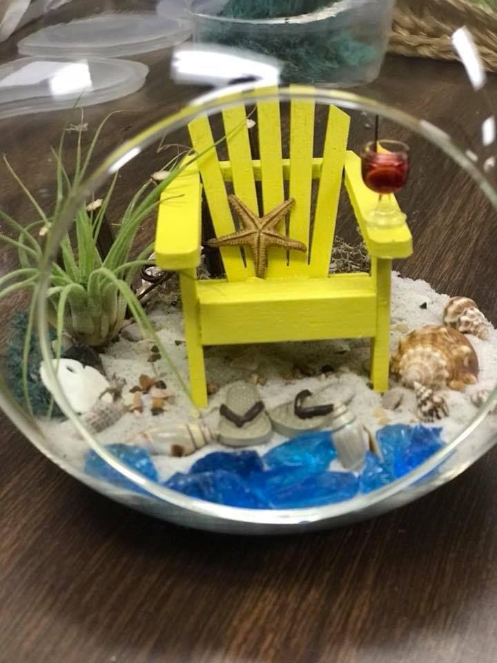 Tiny Beach Terrarium