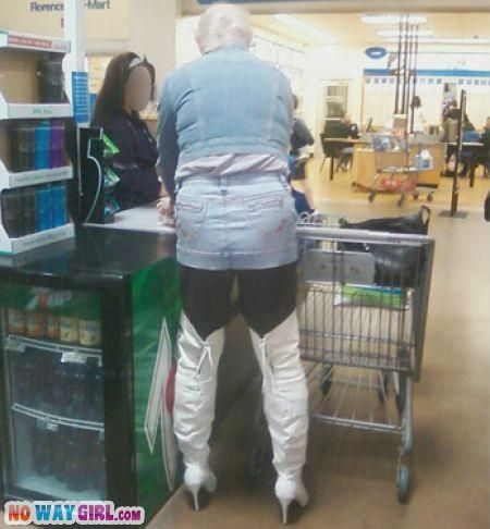 Meanwhile, in Walmart . . .