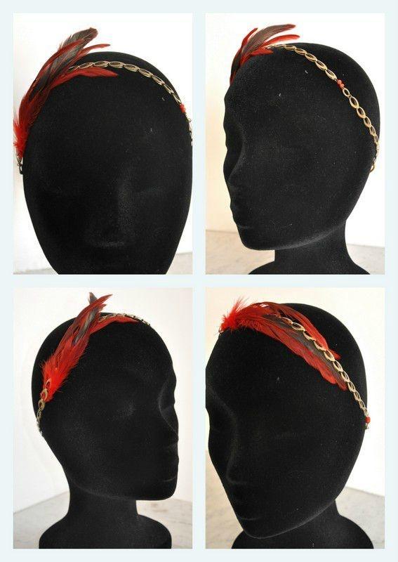 Bijoux de Tête RED CARPET Céline Z