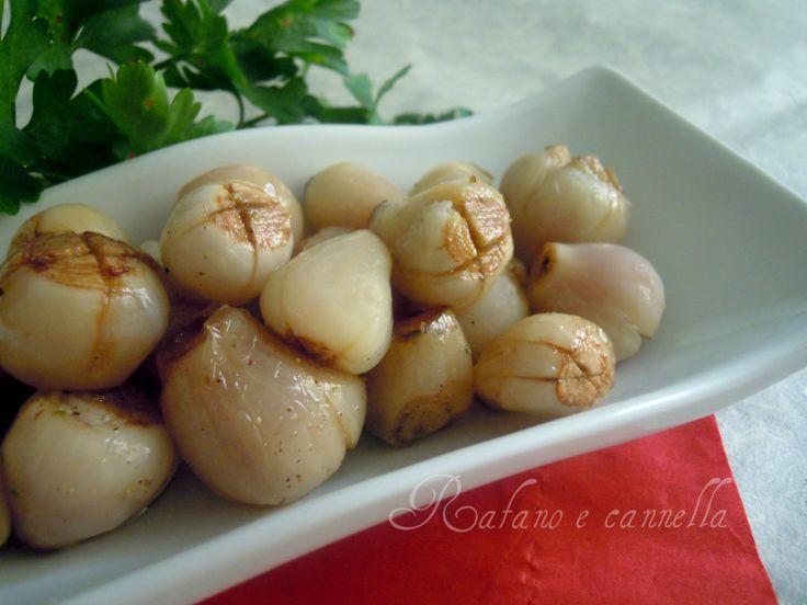 Lampascioni pepe e olio  http://blog.giallozafferano.it/rafanoecannella/lampascioni-pepe-olio/
