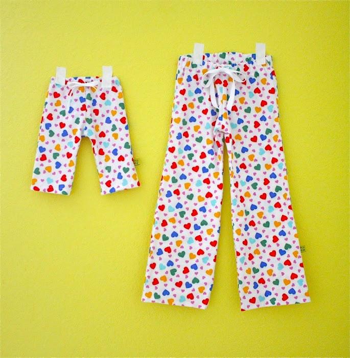 Kids Pajama Pants Pattern
