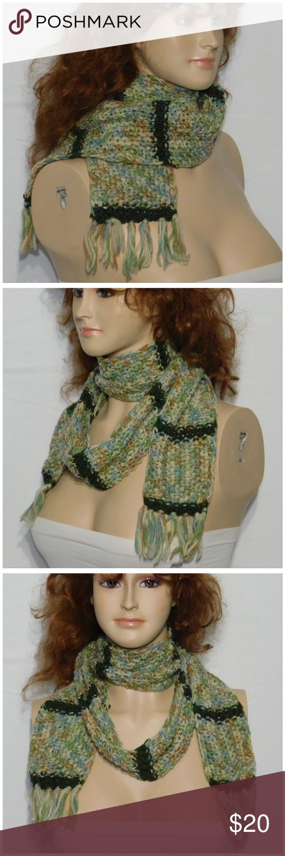 Offers of 40% Less on BUNDLES Always Accepted! Scarf, multiple wrap around styles.    Knit, soft, stretchy, machine washable. ADD to a BUNDLE! Offers of 40% Less on BUNDLES Always Accepted! Accessories Scarves & Wraps