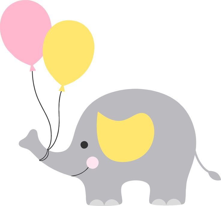 Elefantinho cha de bebe png | Baby Shower | Pinterest | Poppy clips and Clip art