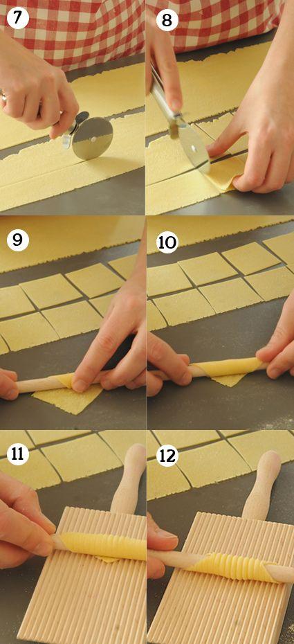 Pastaschule 15: Garganelli make yourself   – Pasta Rund um die Nudel