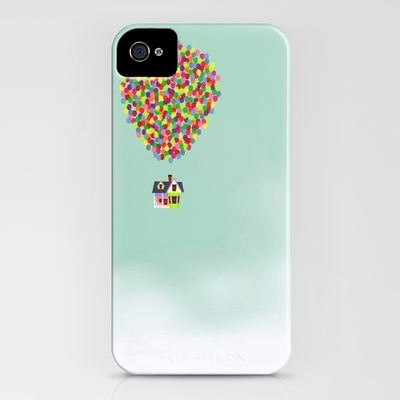 Up iPhone Case by Derek Temple