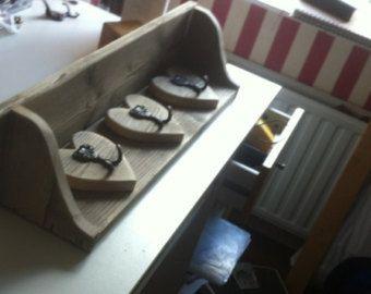 Handmade shabby chic shoe storage and by KiggypipsFurniture