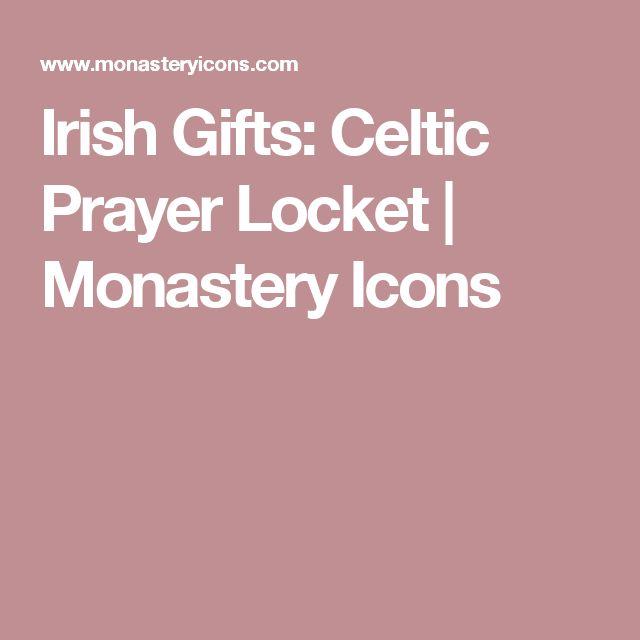 Irish Gifts: Celtic Prayer Locket | Monastery Icons