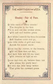 monday's child poem - Google Search