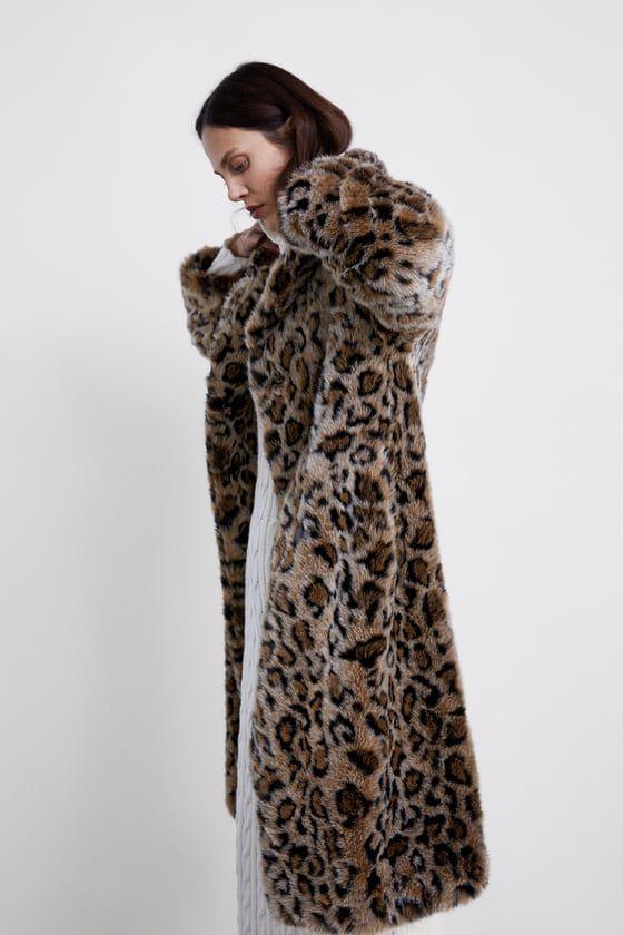 e7fe59bd Image 6 of ANIMAL PRINT TEXTURED COAT from Zara   fall fashun in ...