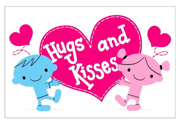 free animated kisses clipart - photo #35