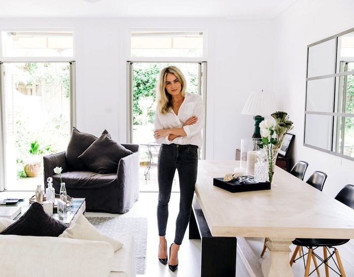 Minimal Black Neutral Australian Home Homedecor Interiordesign Brooketestoni Style Fashion