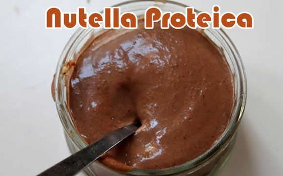 nutella proteica receitas