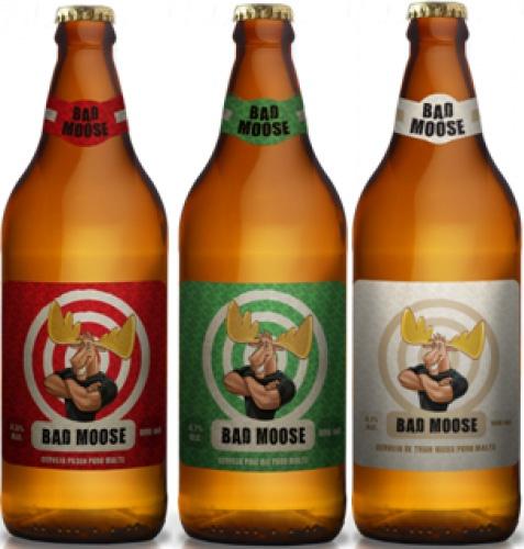 Bad Moose (Pilsen, Pale Ale, Weiss). Cervejaria Blondine. São Paulo-SP. #brazil #beer