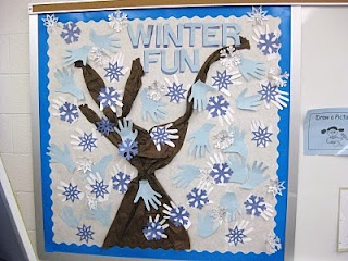 Winter Bulletin Boards!