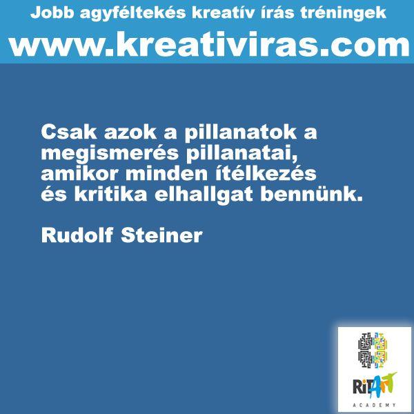 Rudolf Steiner a kritikáról