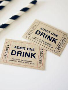 Admit One Ticket - Free Download