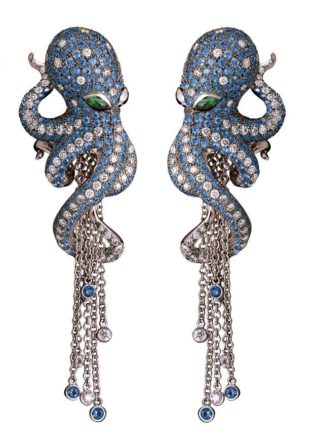Magerit Octopus Collection Earrings AR1098.14ZB
