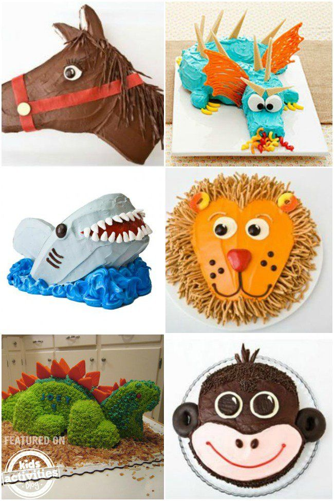 50 Coolest Birthday Cakes on The Planet..these are AWESOME!! I wanna be a little kid again just so I can have one of these lol