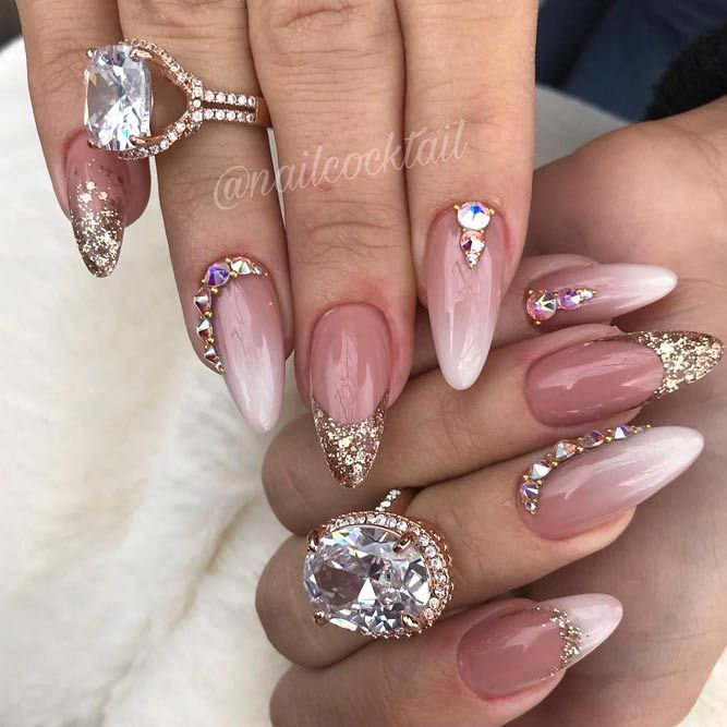 Mauve Color Nails For The Exquisite Look Naildesignsjournal Com Mauve Nails Almond Shaped Nails Designs Almond Shape Nails