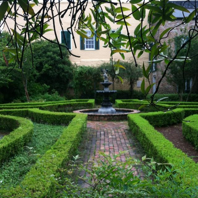 Garden in the French Quarter